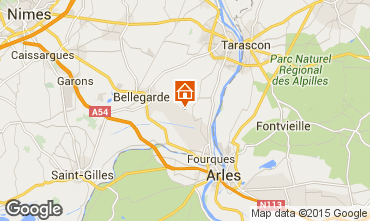 Map Arles One-room apartment 84896