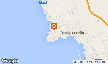 Map Castiglioncello Apartment 72083
