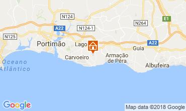 Map Carvoeiro Villa 115911