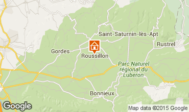 Map Roussillon House 100544
