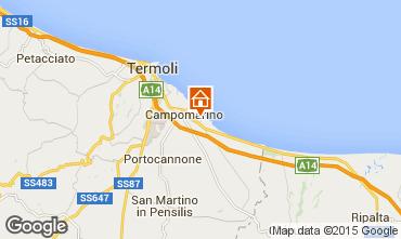 Map Campomarino Apartment 18458