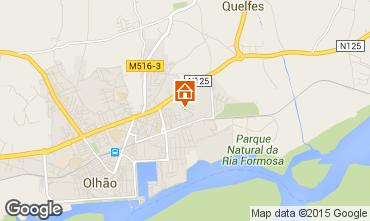 Map Olhão Apartment 89473