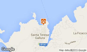 Map Santa Teresa di Gallura Apartment 84500