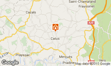 Map Cahors House 94738
