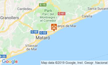 Map Barcelona Apartment 76574