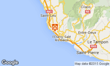 Map Saint Leu Mobile home 94595
