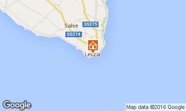 Map Santa Maria di Leuca Apartment 79206