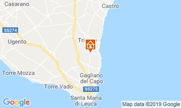 Map Tricase Apartment 110079