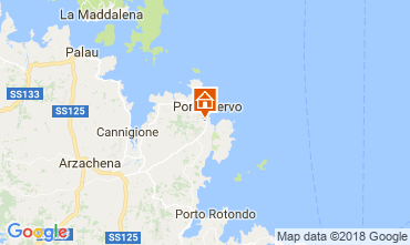 Map Porto Cervo Offbeat B&B 115523