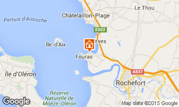 Map Fouras Villa 80650