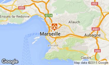 Map Marseille Apartment 93856