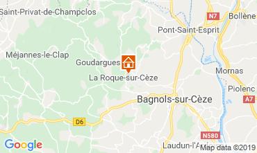 Map Avignon Villa 119856