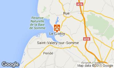 Map Le Crotoy House 64382