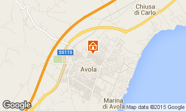 Map Avola House 82687