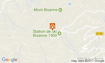 Map Les Saisies Apartment 111117
