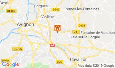 Map Isle sur la Sorgue Villa 94500