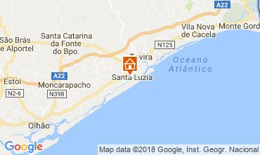 Map Tavira Apartment 115746