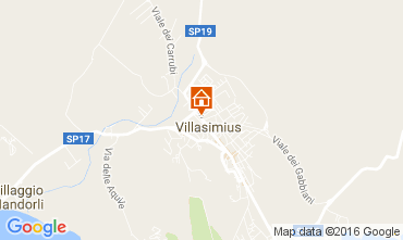 Map Villasimius House 100655