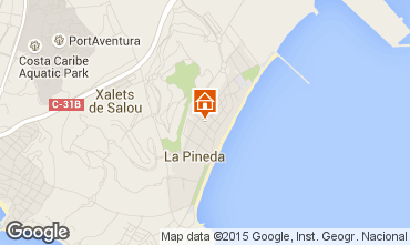 Map La Pineda Apartment 22959