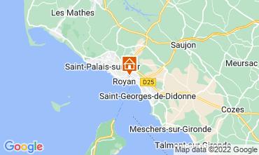 Map Royan Apartment 55283