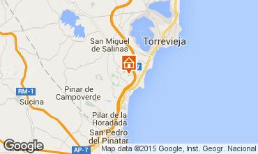 Map Torrevieja Villa 39657
