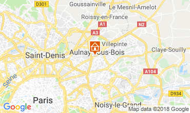 Map PARIS Apartment 93070