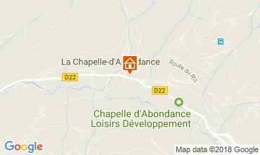 Map La Chapelle d'Abondance Apartment 111731