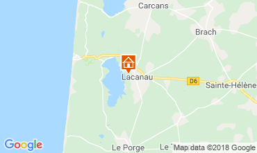 Map Lacanau Villa 112923