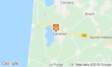 Map Lacanau Villa 112923