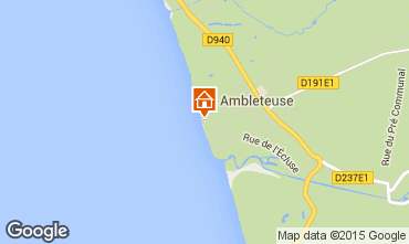 Map Ambleteuse Apartment 81109