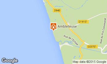 Map Ambleteuse Apartment 81109
