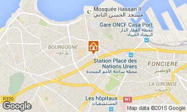 Map Casablanca Apartment 83261