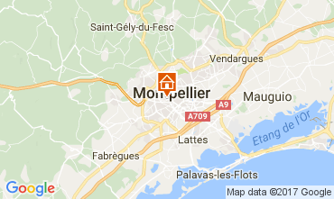 Map Montpellier House 111032