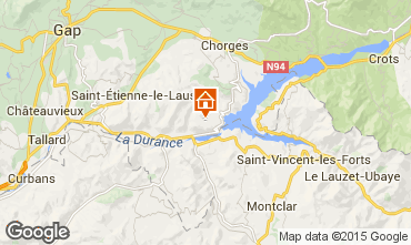 Map Rousset House 12782