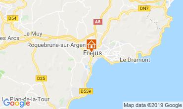 Map Fréjus Apartment 17960
