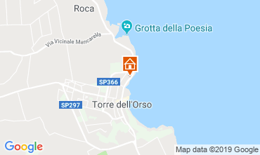 Map Torre dell'Orso Apartment 119511