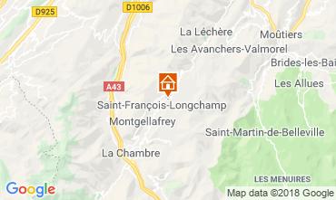 Map Saint François Longchamp Chalet 117215