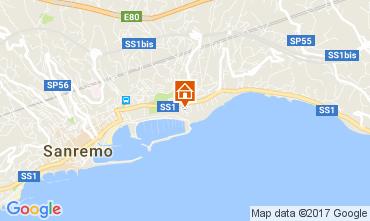 Map Sanremo Bungalow 48673