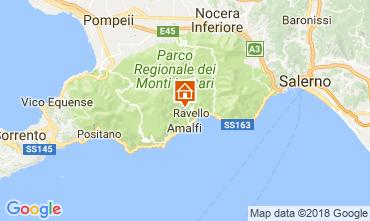 Map Ravello Villa 114444