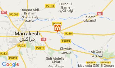 Map Marrakech Villa 72989