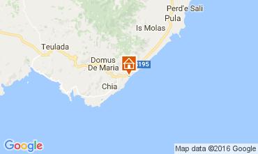 Map Santa Margherita di Pula Apartment 39332