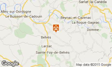 Map Belvès Vacation rental 91629