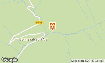 Map Bonneval sur Arc Apartment 482