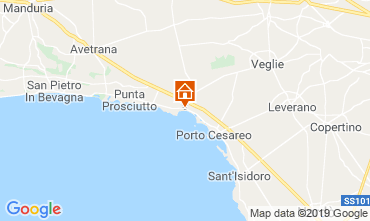 Map Porto Cesareo Apartment 82928