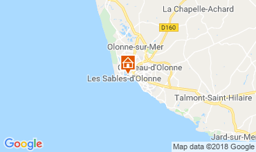 Map Les  Sables d'Olonne House 117483