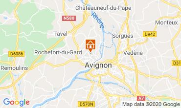 Map Avignon Villa 109138