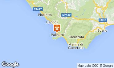 Map Palinuro Apartment 86319