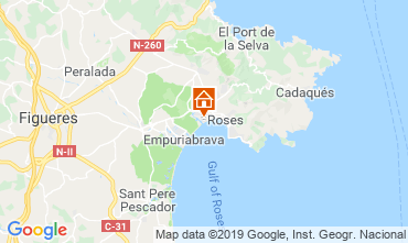 Map Empuriabrava House 108722