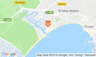 Map Empuriabrava House 108722
