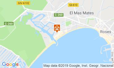 Map Rosas Apartment 108722